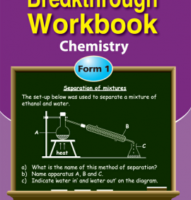 Breakthrough workbook chemistry form 1