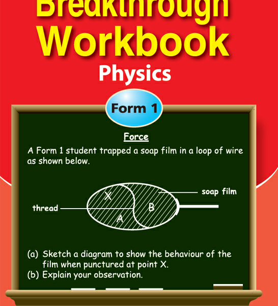 Breakthrough workbook physics form 1